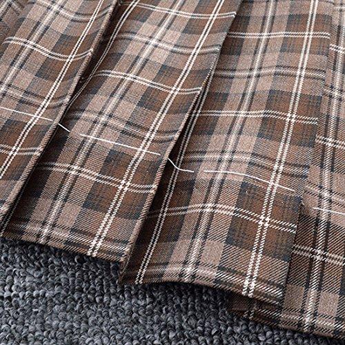 falda t plisado Mini Compruebe completo Uniforme tqwAPat