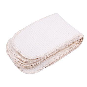 Wiederverwendbare Baumwollwäsche für Kinder Waschbare Stoffwindeln