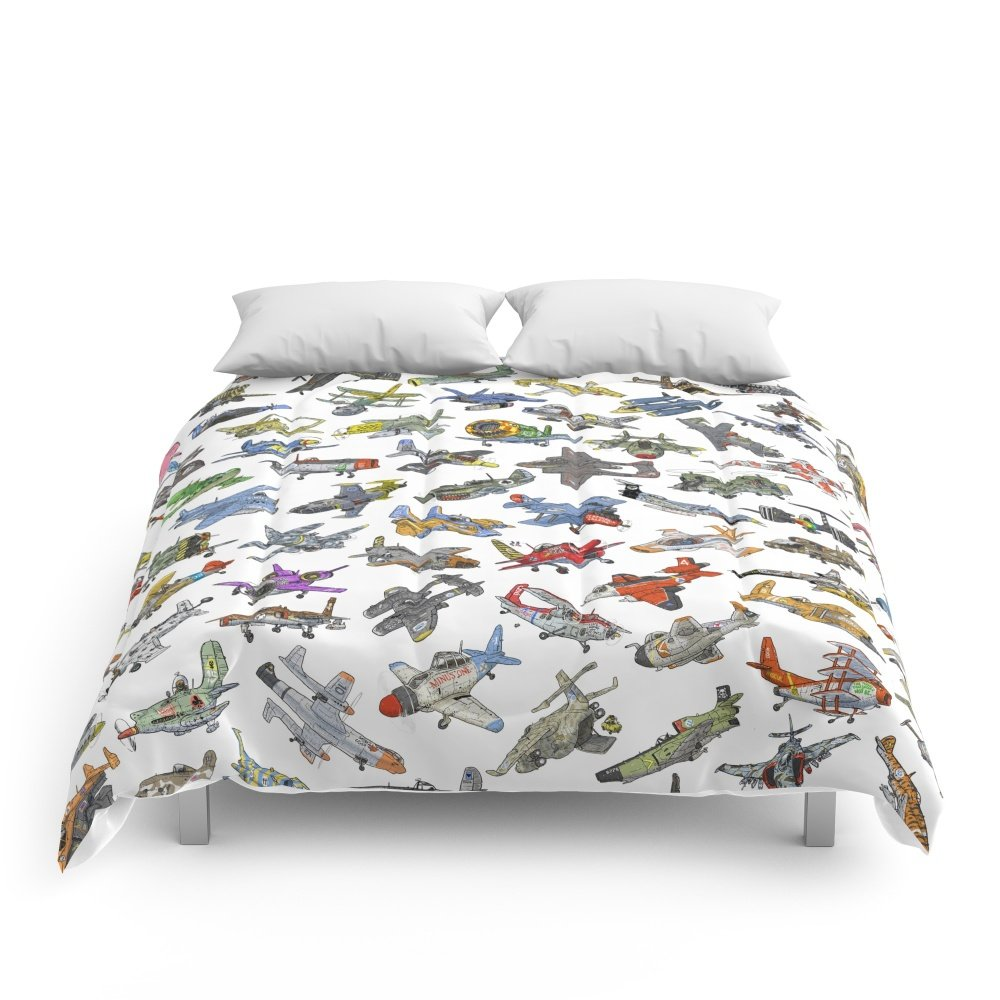 Society6 Sky Tusslers Comforters Queen: 88'' x 88'' by Society6