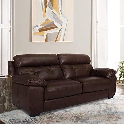 Phenomenal Furny Kane Three Seater Sofa Brown Evergreenethics Interior Chair Design Evergreenethicsorg