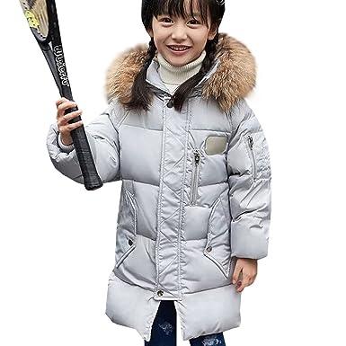 654786577 Amur Leopard Korea Style Kids Girls Boys Long Thick Warm Duck Down ...
