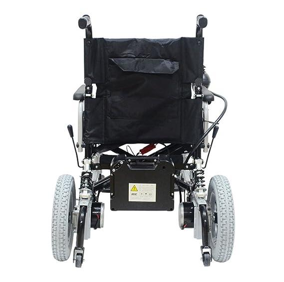 Silla de ruedas eléctrica, discapacitados Scooter para Ancianos, portátil de Viaje, ciclomotor de Viaje: Amazon.es: Deportes y aire libre