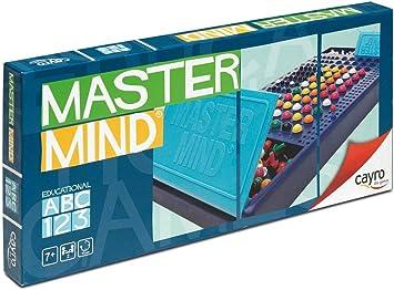 Cayro - Master Mind Colores - Juego de razonamiento y Estrategia - Juego de Mesa - Desarrollo de Habilidades cognitivas e inteligencias múltiples - Juego de Mesa (126): Amazon.es: Oficina y papelería