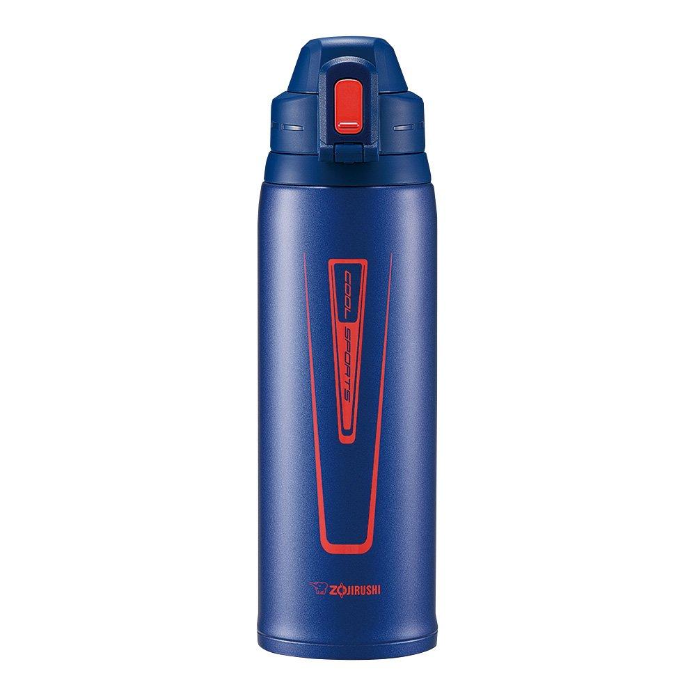 Zojirushi Stainless Steel Cool Flask - Sports Type (1.03L Capacity) Orange Navy SD-EC10-AD by Zojirushi (Image #2)