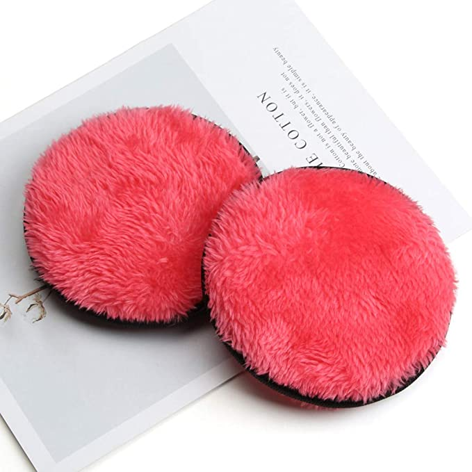 B KCPer Makeup Remover Towel Face Cleansing Cloth Pads Plush Puff Makeup Remover Cotton Multi-Function Makeup Remover Puff Face Beauty Makeup Remover Tool