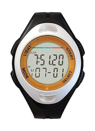 Multi deporte temporizador cronómetro contador reloj digital muñeca/podómetro/Pulso JS-712 A