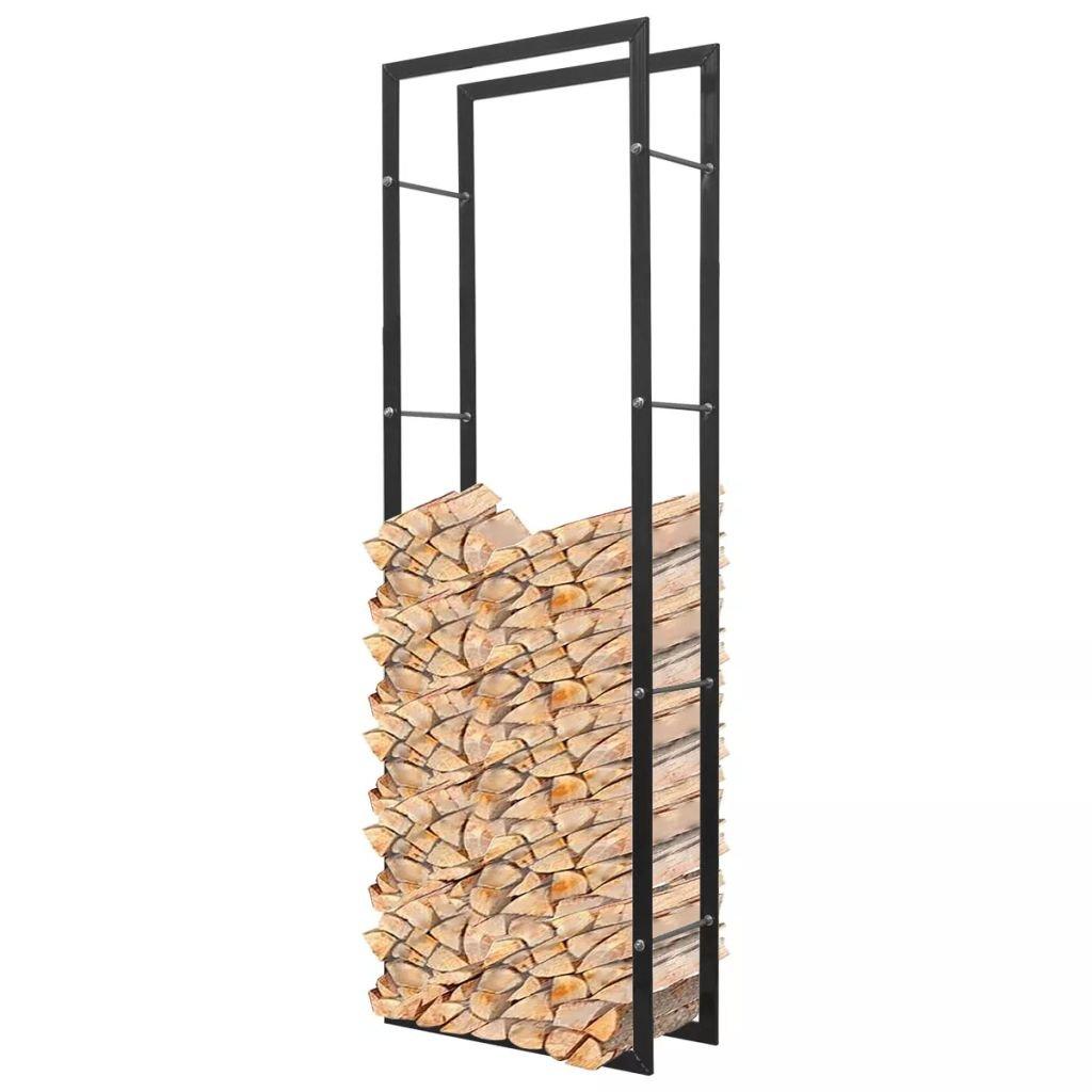 vidaXL Cremagliera Porta Legna Da Ardere Rettangolare 150 cm