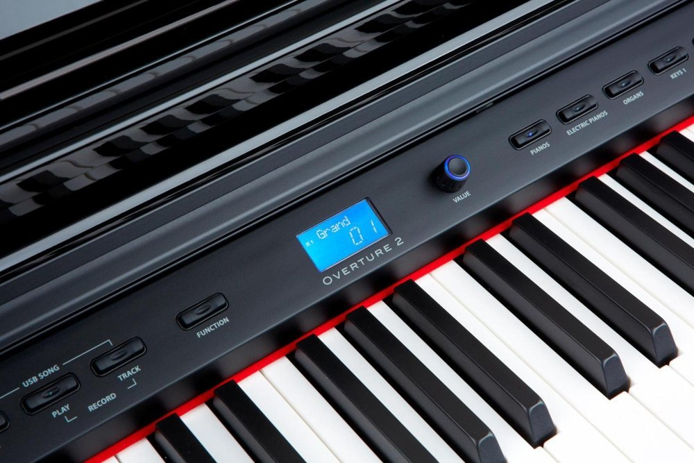 Digital Console Piano Keyboard