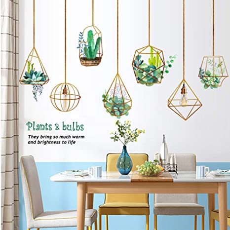 Home Decor Home & Garden Pvc Waterproof Diy Wall Stickers Wardrobe Removable Decal Entrance Study Living Room Dining Room Decorative Stickers