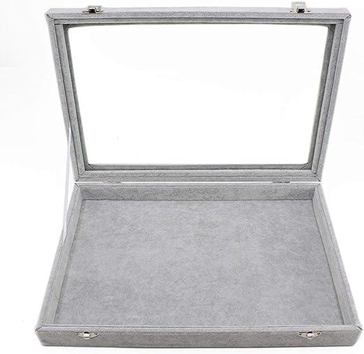 JUNGEN Cajas de Almacenamiento Expositor Caja para Colgante Collar ...