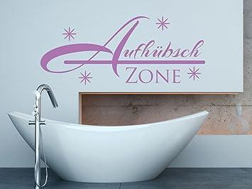 Wandtattoo-bilder® Wandtattoo Aufhübsch Zone Nr 2 Badezimmer ...