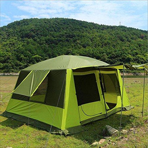 新作モデル B07LFCW1V5 耐久性のある耐久性のある 屋外5-12人ダブルデッキ防風性と耐雨性のテント B07LFCW1V5, ナカガワマチ:cd42599b --- staging.aidandore.com