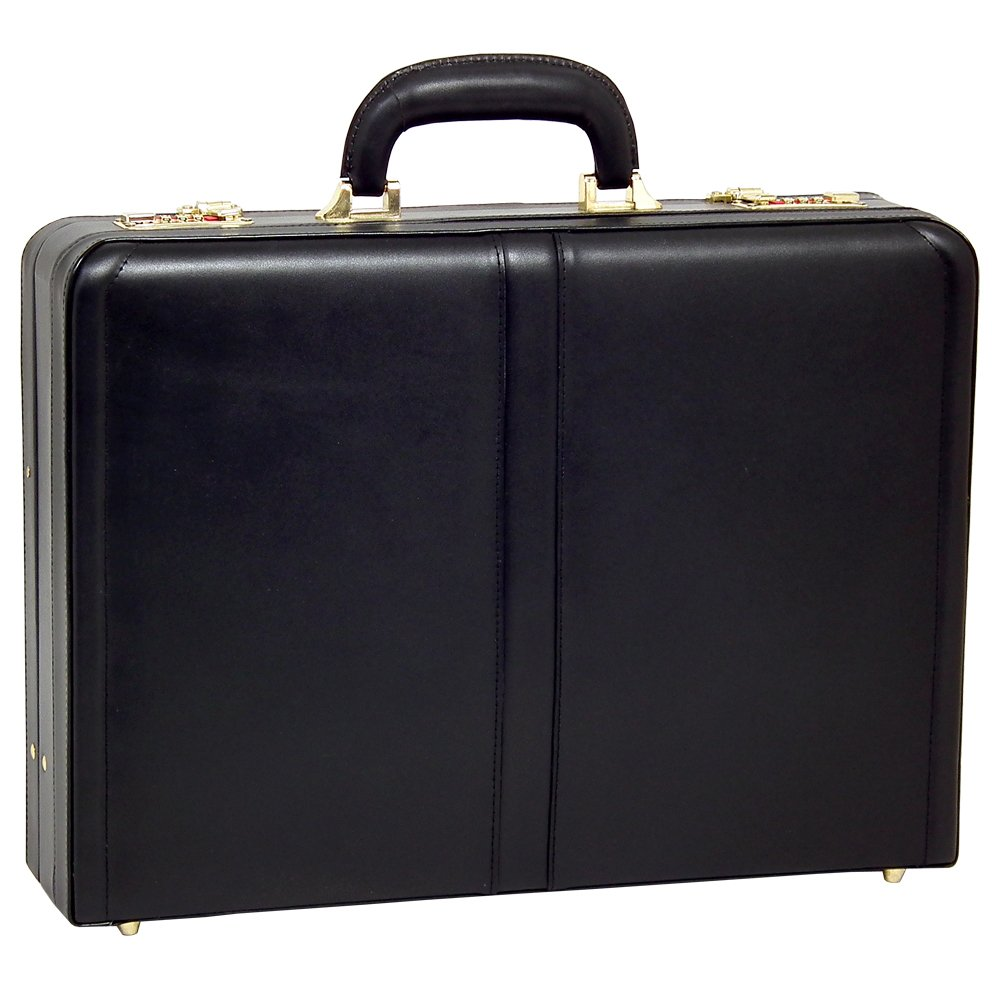 Mcklein USA 80475 Harper , Leather 4.5'' Expandable Attached Briefcase