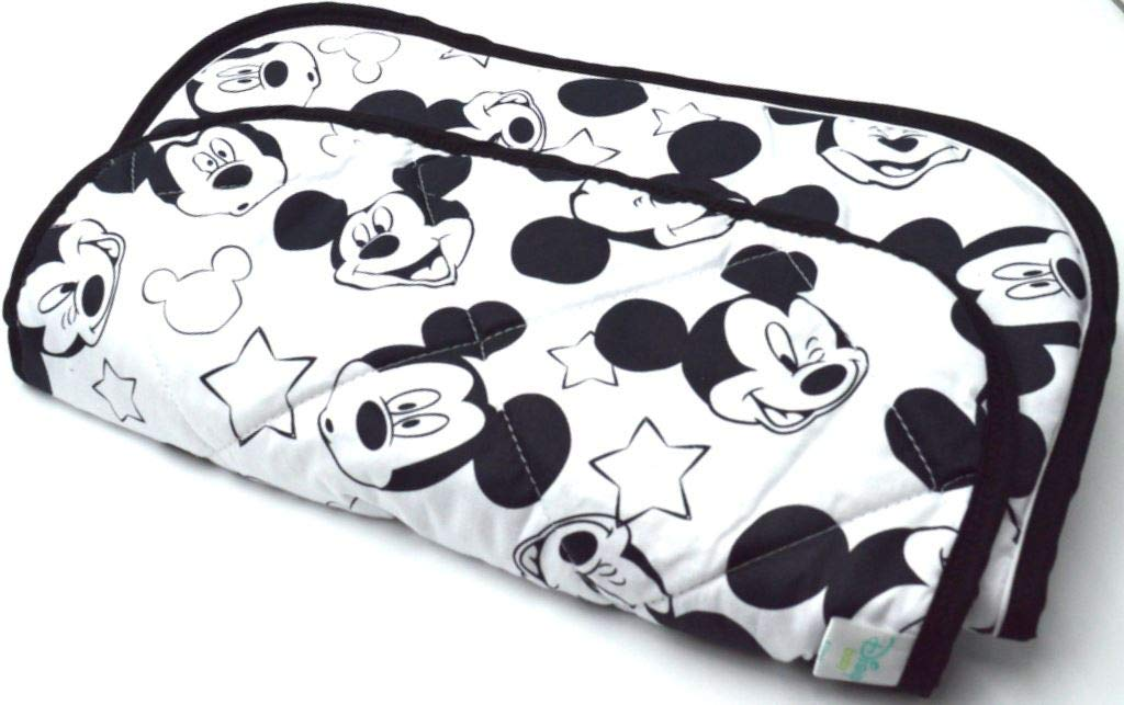 Amazon.com: Disney Mickey Baby Stroller Car Seat Chair Cushion Mat Pad Cover Protector: Baby