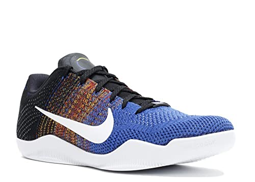 4827f4042b17 Nike Kobe XI Elite Low BHM (Multi Color Game Royal-White) (10)  Buy ...