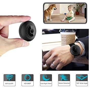 Mini-IP-Kamera HD 1080P versteckte Home Security Nachtsicht HEISS