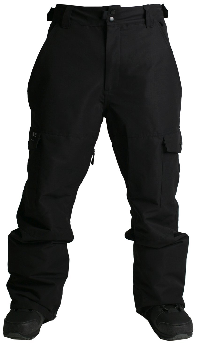 Ride Phinney Shell Pant - Men's Black Rip Stop Small