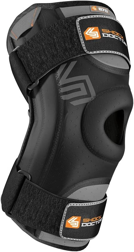 1 Knee Support for Stability Minor Patella Instability Sold as Single Unit Shock Doctor 870 Knee Brace Minor ligament Sprains for Men /& Women Meniscus Injuries