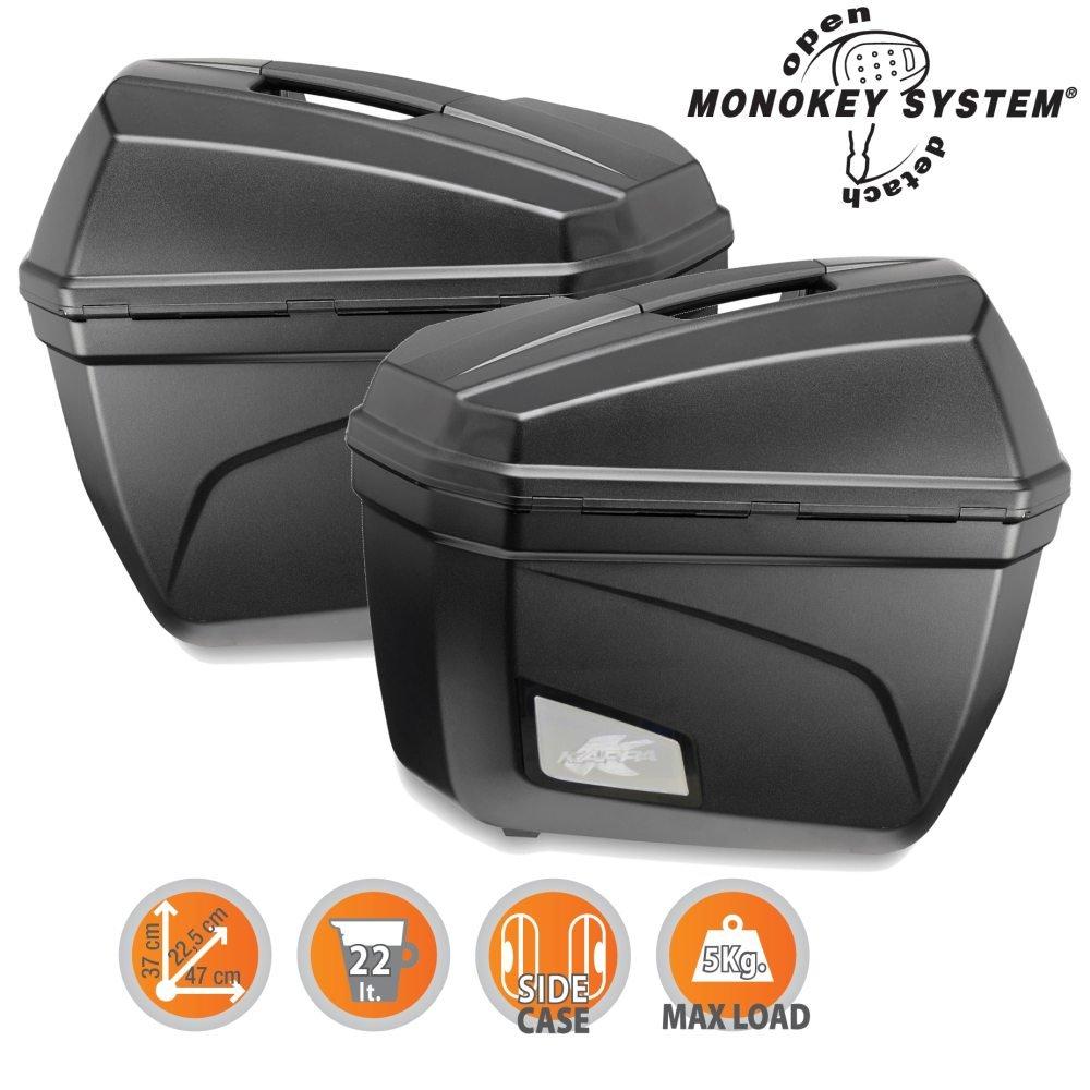 Givi K22N K22 Cruiser Monokey Side kit 2 Items per top-case 22 litres Volume and 5 kg Additional Load