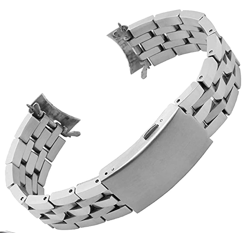 zhuolei 19 mm 20 mm 5リンクステンレススチールバンド交換用forティソt17t461t014prc200  B073RKW393