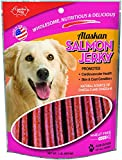 Carolina Prime Pet 40192 Salmon Jerky Treat For Dogs ( 1 Pouch), One Size