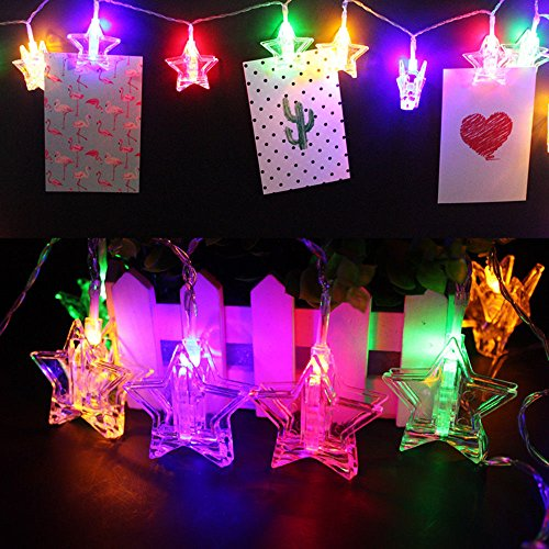 Photo Clips String Colorful Lights