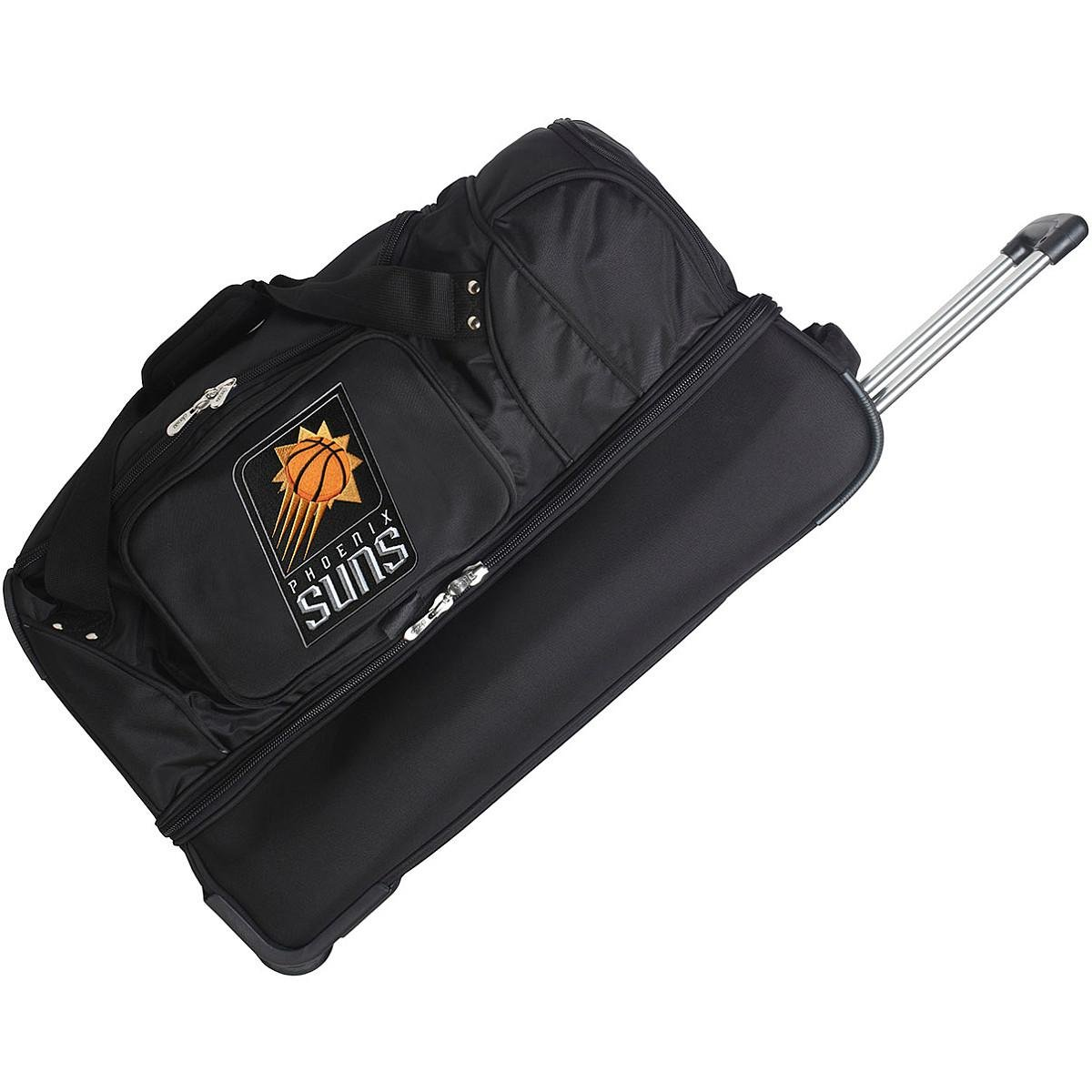DENCO PHOENIX SUNS 27 INCH 2-WHEELED DROP BOTTOM DUFFEL