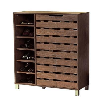 Amazoncom Entryway Cabinet Furniture With Doors Hallway Shoe