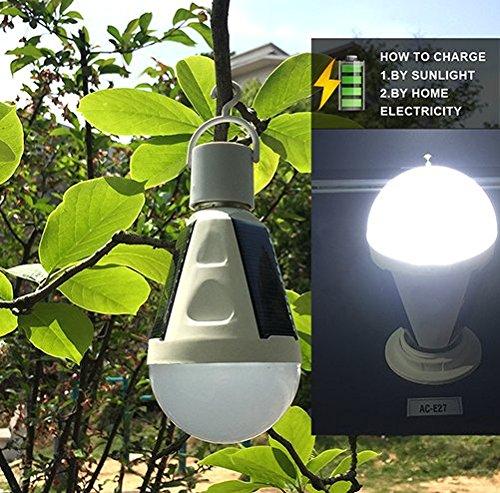 Portable Outdoor Solar Light Bulb