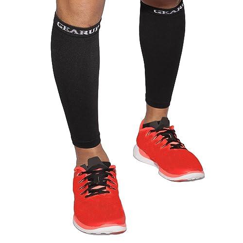 Mangas de compresión piernas o pantorrillas de vacuno – Obras W/zapatillas, calcetines de