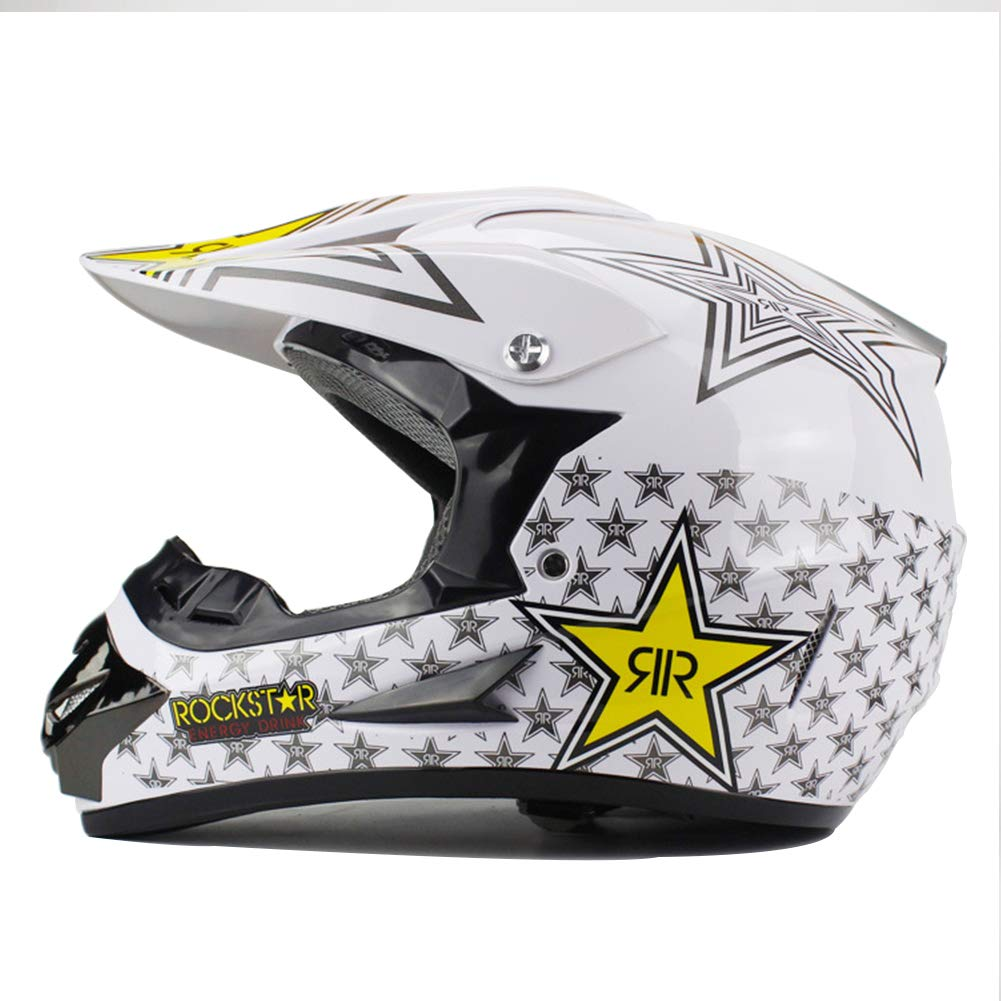DRAGDE Motorcycle Helmet, Mountain Cross-Country Helmet, A Variety of Cool Farbes