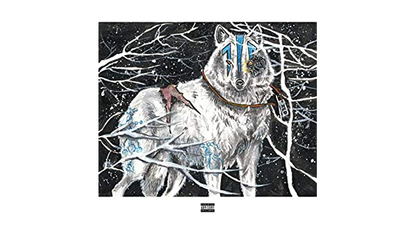 暴雪裡的狼(Wolf in blizzard) de Zeo Water水神 en Amazon ...