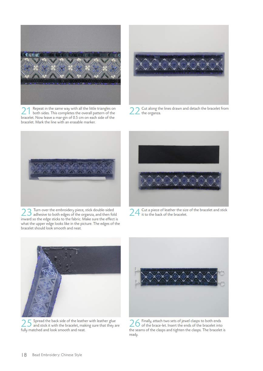 Bead Embroidery Chinese Style A Step-by-Step Visual Guide with Inspiring Projects