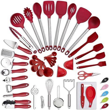 Non-stick Silicone Shovel Spatula Pizza Cookware Cooking Utensils Kitchen Tools