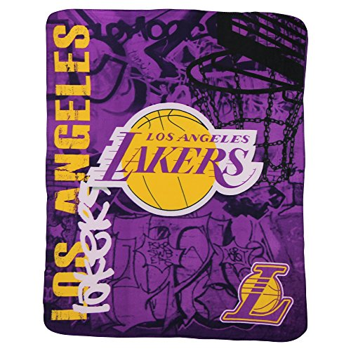 Nba Lightweight Fleece Blanket  50  X 60     Los Angeles Lakers