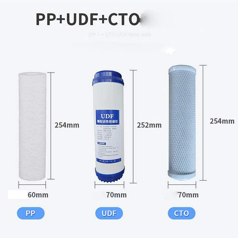 Udf Three-Stage Filtration System PP Cto for Household Three-Stage Water Purifier Set Filter