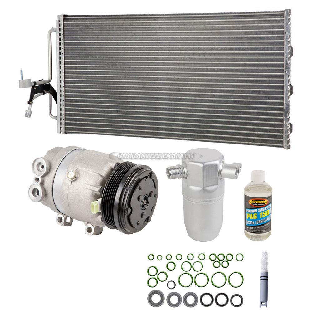 BuyAutoParts 60-89780CK New A//C Kit w//AC Compressor Condenser /& Drier For Oldsmobile Intrigue 1999-2002