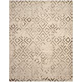 Cheap Safavieh Tunisia Collection TUN1911-KMK Ivory Area Rug, 8 feet by 10 feet (8′ x 10′)