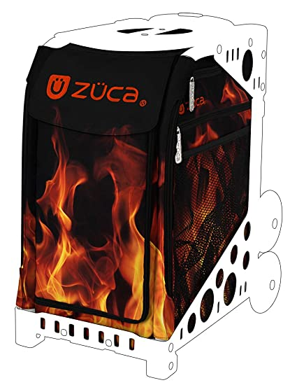 a8f4392c6e Amazon.com   ZUCA Blaze Sport Insert Bag (Bag Only) - Red Hot Flames ...