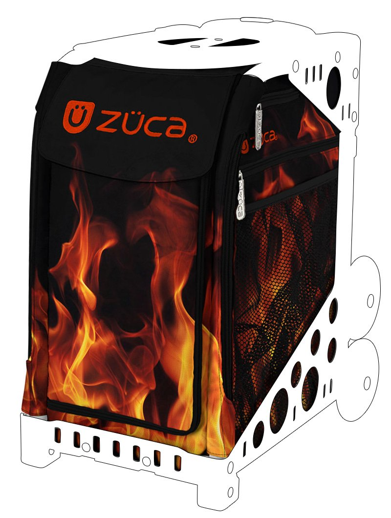 Zuca Blaze Sport Insert Bag (Bag Only) - Red Hot Flames Design by ZUCA