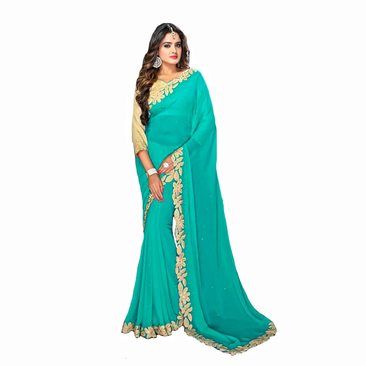 Bollywood Indian Bridal Wedding Sari Saree Designer Work Original Ethnic Traditional WhiteSexy New