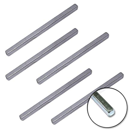 5 x Steel Spindle Connecting Rod Bar for Door Handles and Knobs  sc 1 st  Amazon UK : door spindles - pezcame.com