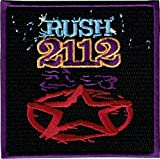 Rush Band Iron on Patch - 2112 Red Star Album Cover Design Applique