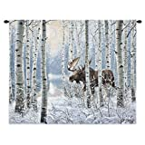 On The Move Wall Tapestry by Pure Country Weavers / Tapestry Wall Decor / art for your home or office. / 34'' x 26'' -100% Cotton / Made and shipped from the USA.