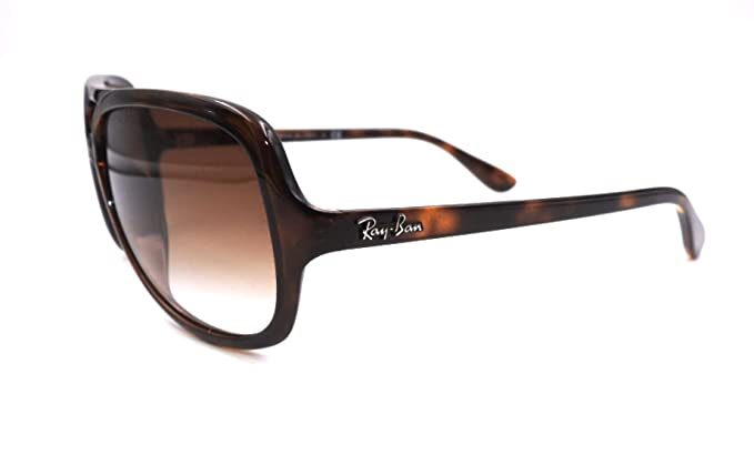 01eff440ca Amazon.com  Ray Ban Sunglasses RB 4162 RB4162 710 51 Acetate Havana  Gradient brown  Clothing