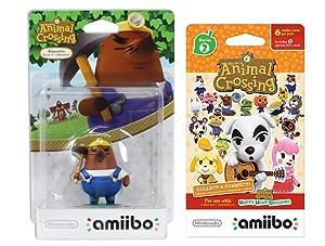 Mr Resetti Amiibo (Animal Crossing Series) for Nintendo Switch - WiiU, 3DS Bonus 1-Pack (6 Cards/Pack) (Bundle)