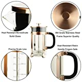 ADAMITA French Press Coffee Maker 8 cups 34 oz