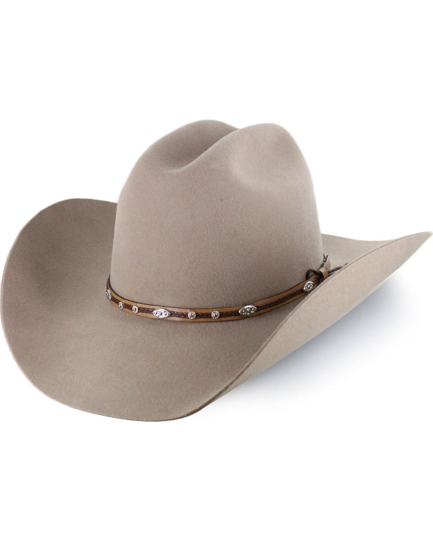 2f305cb1d Cody James Men's Denton 3X Pro Rodeo Brim Felt Cowboy Hat ...