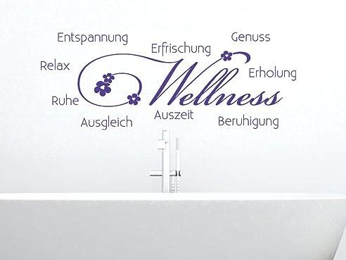 Sprüche entspannung wellness  Wandtattoo Wandaufkleber Tattoo für Badezimmer Sprüche Bad ...