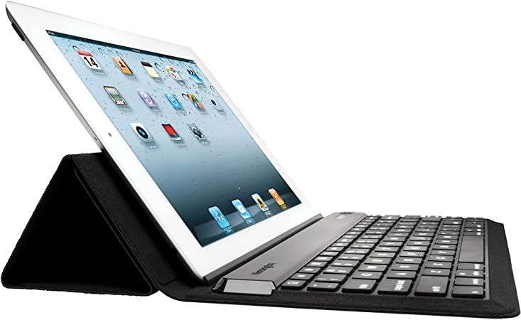 Kensington KeyFolio Expert Bluetooth Negro Teclado para móvil - Teclados para móviles (Negro, Resistente a rayones, iPad, iPad2, iPad3, Bluetooth)